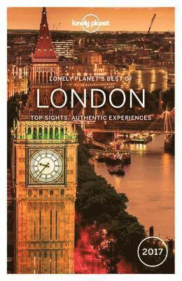 bokomslag Lonely Planet Best of London 2017