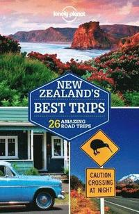 bokomslag Lonely Planet New Zealand's Best Trips