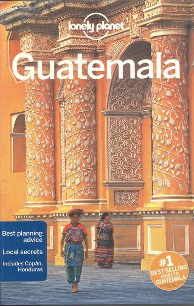 bokomslag Lonely Planet Guatemala