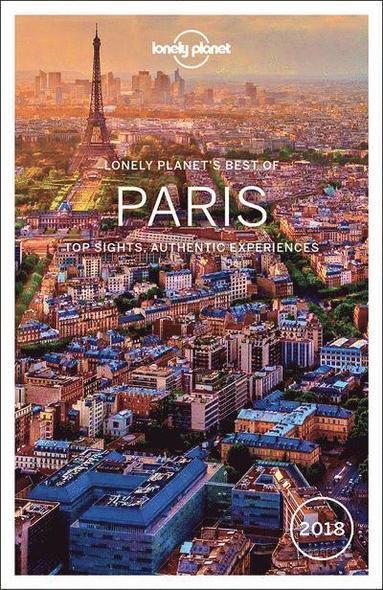 bokomslag Lonely Planet Best of Paris 2018