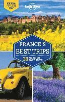 bokomslag Lonely Planet France's Best Trips