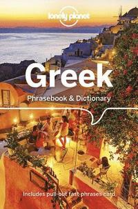 bokomslag Greek Phrasebook & Dictionary