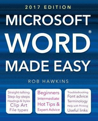 bokomslag Microsoft word made easy (2017 edition)