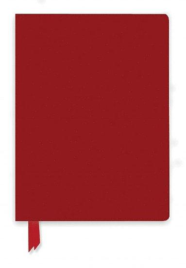 Anteckningsbok A5 linjerad mjuk pärm Artisan röd 1