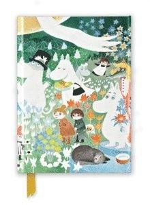 Anteckningsbok A5 linjerad Moomin - The Dangerous Journey
