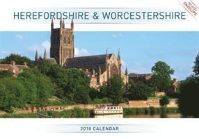 bokomslag Herefordshire & worcestershire a4