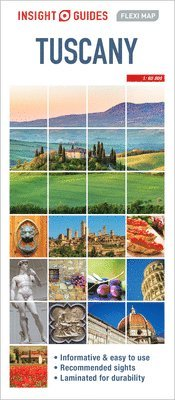 bokomslag Tuscany Flexi Map