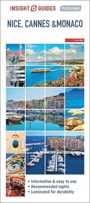 bokomslag Nice, Cannes and Monaco Flexi Map