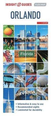 bokomslag Insight Guides Flexi Map Orlando