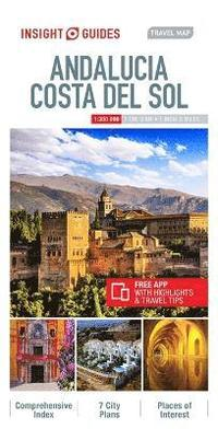bokomslag Insight Guides Travel Map Andalucia &; Costa del Sol
