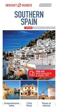 bokomslag Insight Guides Travel Map Southern Spain