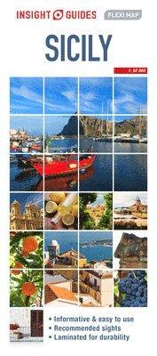 bokomslag Insight Guides Flexi Map Sicily