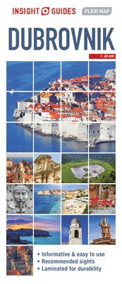 bokomslag Dubrovnik Flexi Map