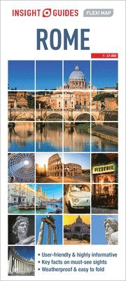 Rome - Insight Flexi Map 1
