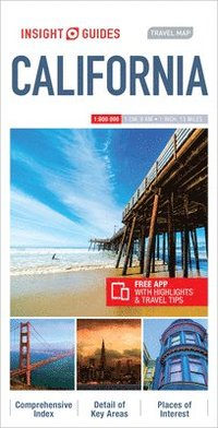 bokomslag Insight Guides Travel Map California