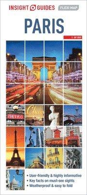 bokomslag Paris - Insight Flexi Map