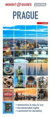 bokomslag Prague - Insight Flexi Map
