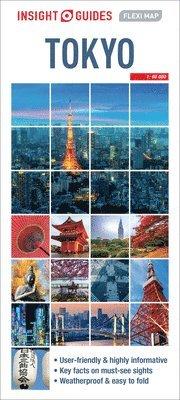 bokomslag Tokyo Flexi map