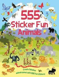 bokomslag 555 Sticker Fun  Animals