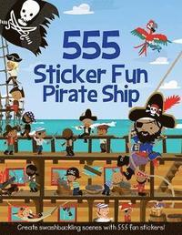 bokomslag 555 Sticker Fun Pirate Ship
