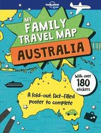 bokomslag My Family Travel Map - Australia