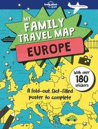 bokomslag My Family Travel Map - Europe