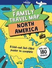 bokomslag My Family Travel Map - North America