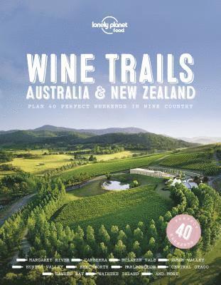 bokomslag Wine Trails - Australia &; New Zealand