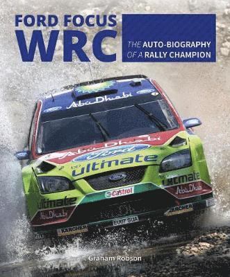 bokomslag Ford focus rs wrs world rally car 1989 to 2010