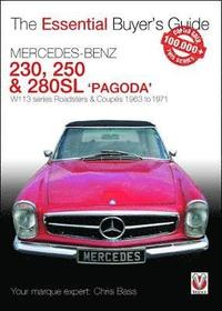 bokomslag Mercedes benz pagoda 230sl, 250sl & 280sl roadsters & coupes - w113 series