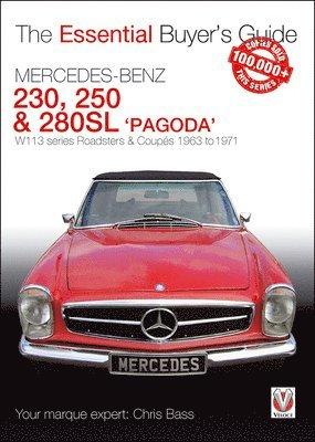 bokomslag Mercedes benz pagoda 230sl, 250sl & 280sl roadsters & coupes - w113 series