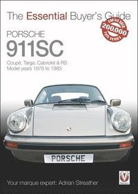 bokomslag Porsche 911sc - coupe, targa, cabriolet & rs model years 1978-1983