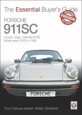 bokomslag Porsche 911sc - coupe, targa, cabriolet & rs model years 1978-1983