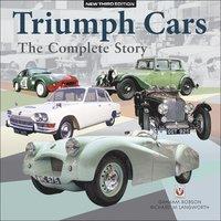 bokomslag Triumph Cars - The Complete Story