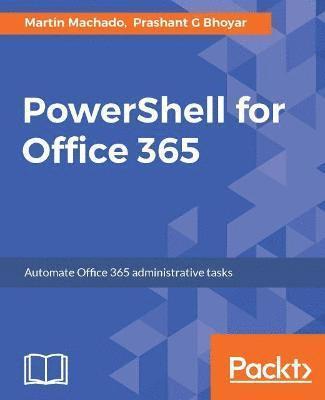 bokomslag PowerShell for Office 365