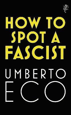 bokomslag How to Spot a Fascist