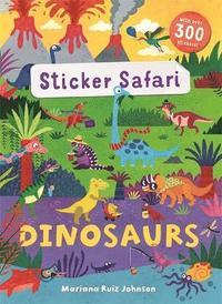 bokomslag Sticker Safari: Dinosaurs