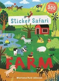 bokomslag Sticker Safari: Farm
