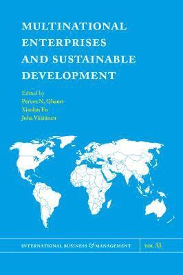 bokomslag Multinational enterprises and sustainable development