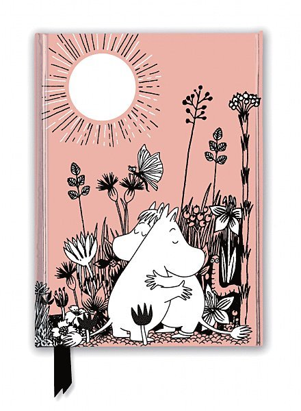 Anteckningsbok 22x16cm linjerad Moomin Love 1