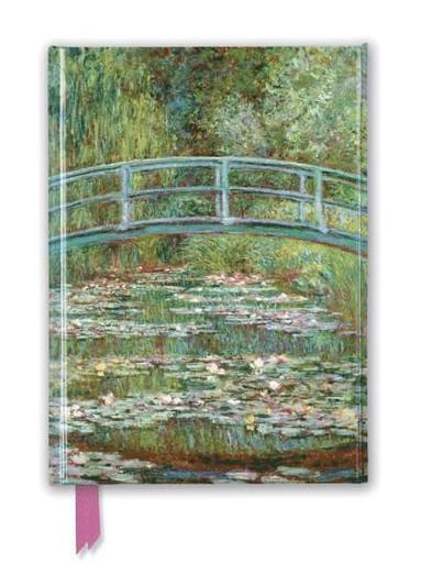 Anteckningsbok A5 Claude Monet - Bridge Over A Pond Of Water Lilies