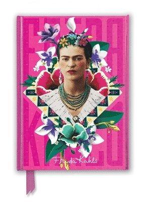 Anteckningsbok A5 linjerad Frida Kahlo Pink