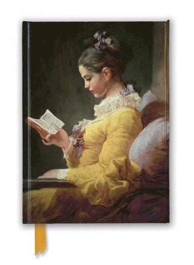 Anteckningsbok A5 Jean-Honoré Fragonard - Young Girl Reading