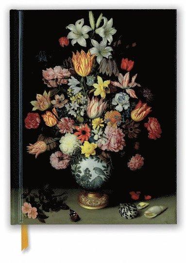 Skissbok 28x22cm National Gallery: Bosschaert - Still life of Flowers