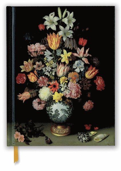 Skissbok 28x22cm National Gallery: Bosschaert - Still life of Flowers 1
