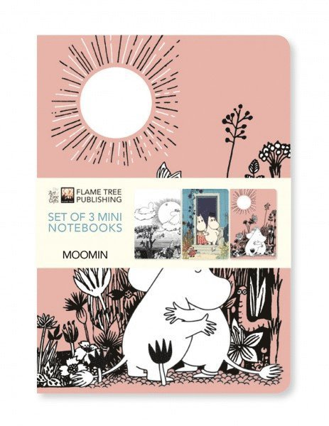 Skrivhäfte A6 linjerad 3-pack Moomin 1