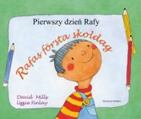 bokomslag Rafas första skoldag (polska och svenska)