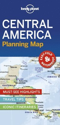 bokomslag Central America Planning Map