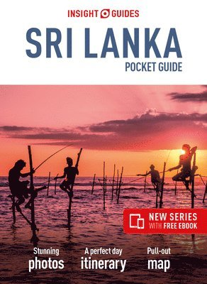bokomslag Sri Lanka Insight Guides Pocket
