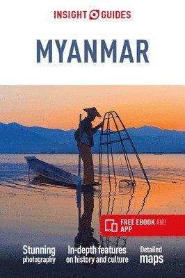 bokomslag Myanmar Insight Guide